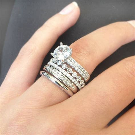 2019 Popular Engagement Rings And Wedding Bands In One