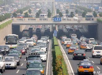 Πρωινή κίνηση στο Πεκίνο