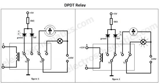 DPDT relay