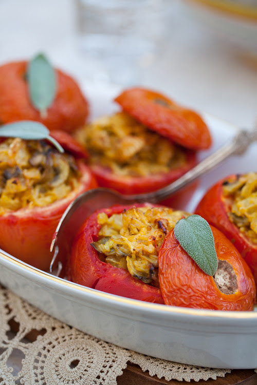 Stuffed Tomatoes 2