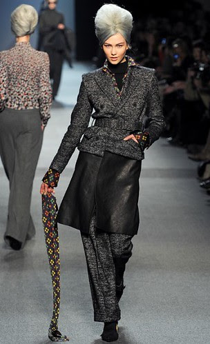 Old Lady Chic at Jean Paul Gauthier