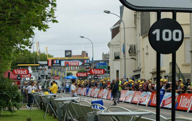 Tour de France 2012 - Finish of stage 3 at Boulogne sur Mer