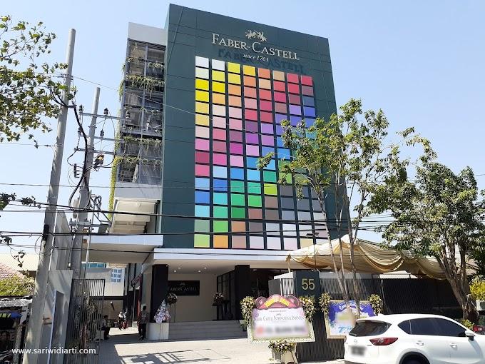 Kantor Cabang Faber-Castell di Surabaya Menyediakan Fasilitas Galeri Seni dan Ruang Workshop