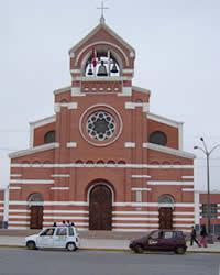 iglesia  de chincha peru
