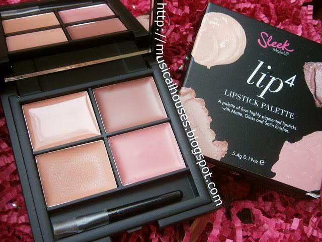sleek lip4 ballet