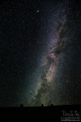 Milky Way Over Mormon Basin, Oregon