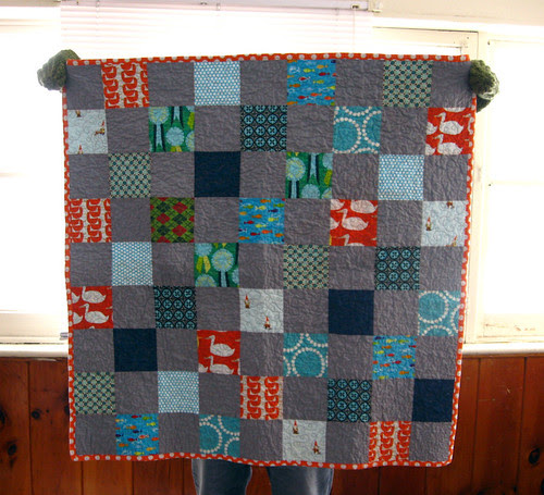 Baby quilt front