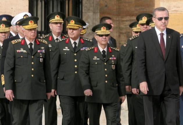 Τι θέση θα πάρει ο τουρκικός στρατός στην αποκαθήλωση Ερντογάν