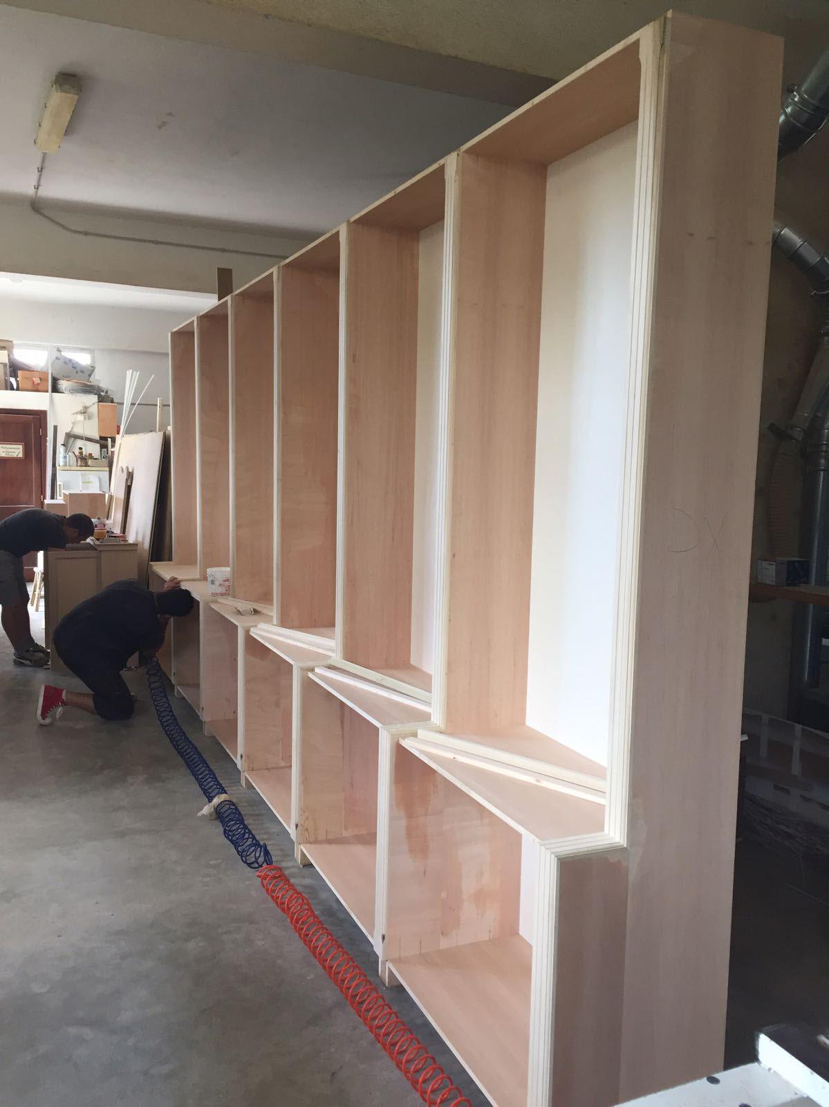 produttore librerie in legno