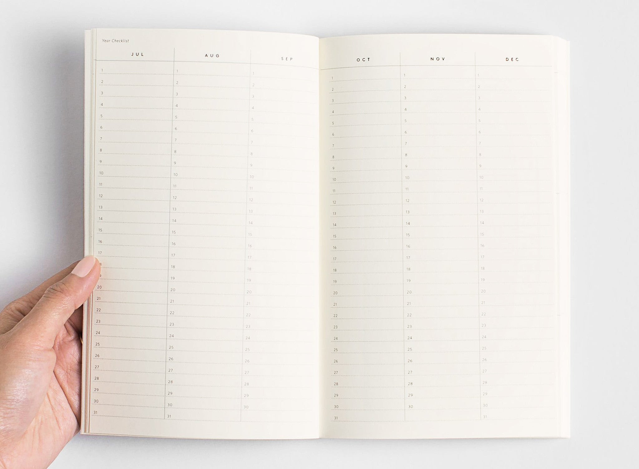 Monthly And Daily Planner