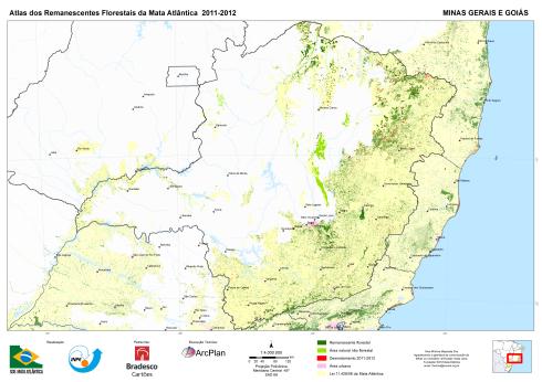 Com Aécio Neves o Estado de Minas Gerais é o campeão em desmatamento com 70%