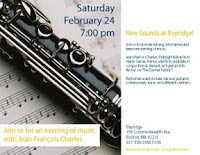 7 clarinet recital Bayridge flyer