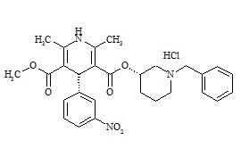 (3S,4'R)-Benidipine HCl