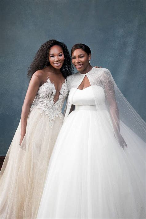 Serena Williams, Alexis Ohanian, Venus Williams, Wedding