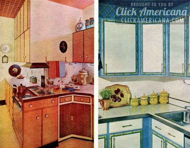 Glam up your kitchen with sixties style! - Click Americana