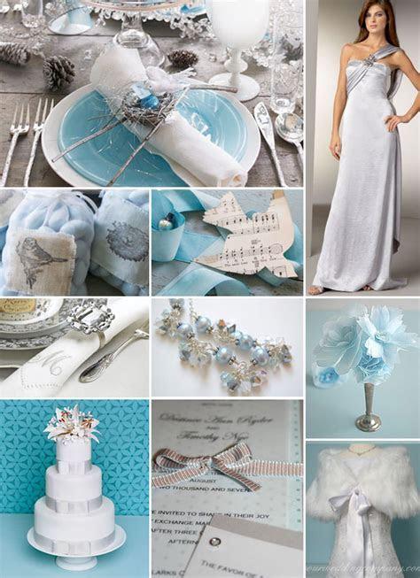 Blue and Silver Winter Weddings ? Brenda's Wedding Blog