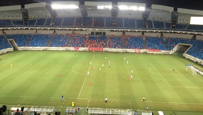 América-RN x Confiança TR Arena das Dunas (Foto: Augusto Gomes/GloboEsporte.com)