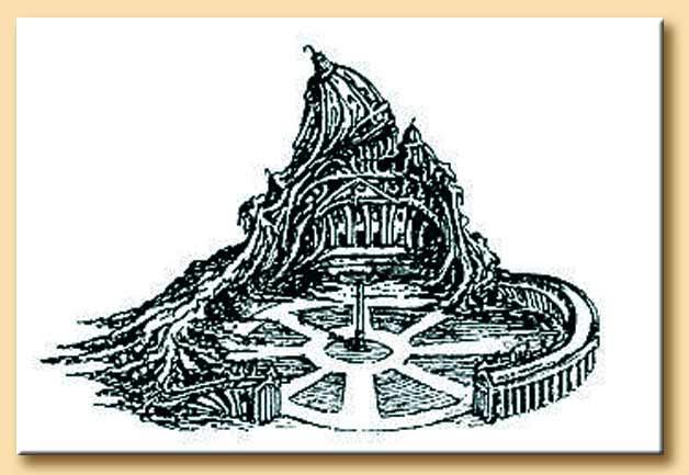 autodemolizione della chiesa