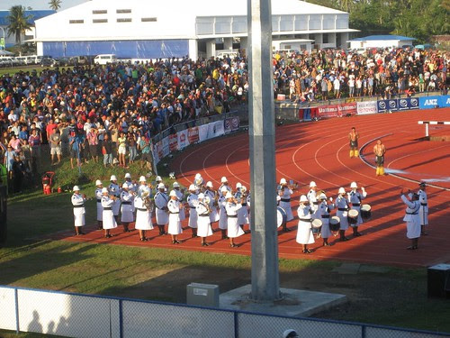 SPG south pacific games opening ceremonies
