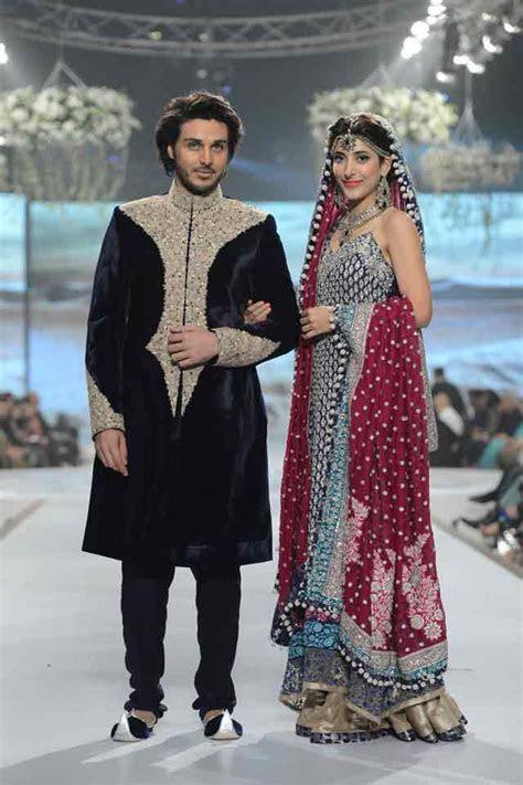 Pakistani bride groom dresses combination 21 ? FashionEven