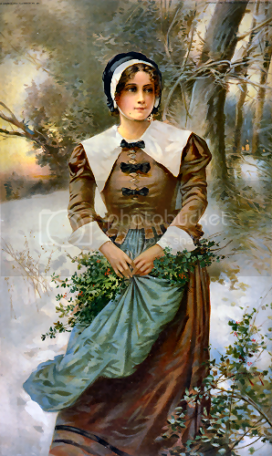 colonial Puritan woman