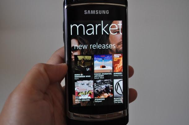 Marketplace do Windows Phone já é um sucesso (Foto: Divulgação)