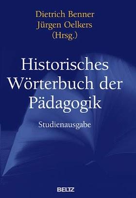 [pdf]Historisches Wörterbuch der Pädagogik: Studienausgabe_3407831692_drbook.pdf