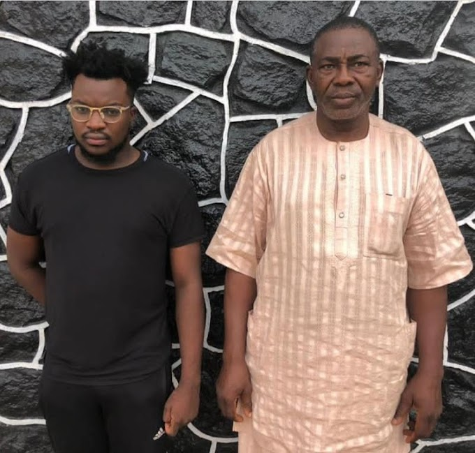 NEWS: Father And Son Apprehended By EFCC Over Alleged Internet Fraud