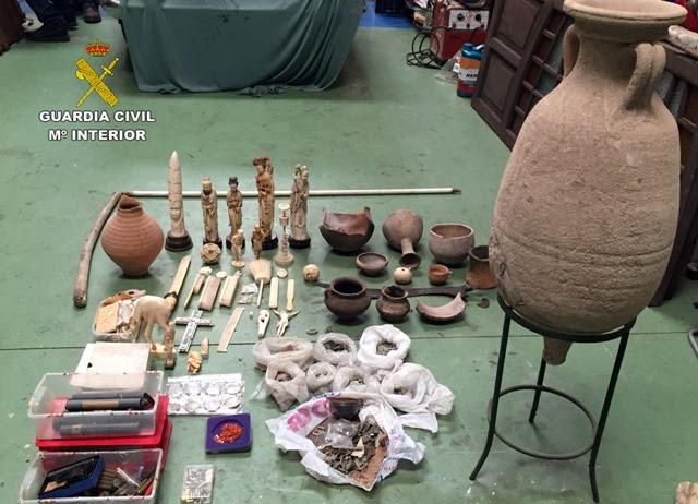 Detenidas 101 personas e incautadas más de 41.000 obras de arte y bienes culturales en el marco de la operación global Pandora II-Athena desarrollada en 81 países del mundo