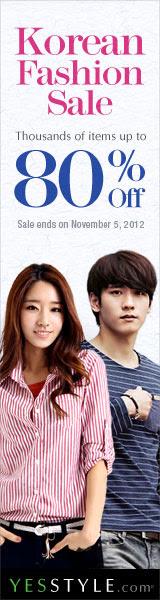 Korean Fashion Sale - Up to 80% Off