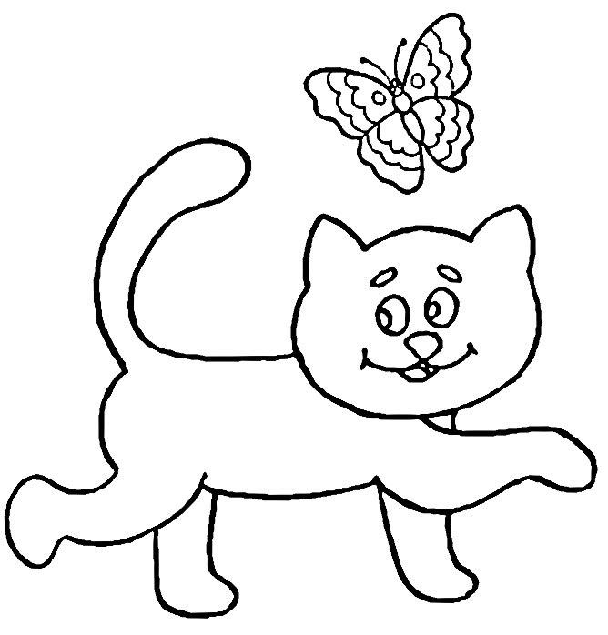 260 Dibujos De Gatos Para Colorear Oh Kids Page 3