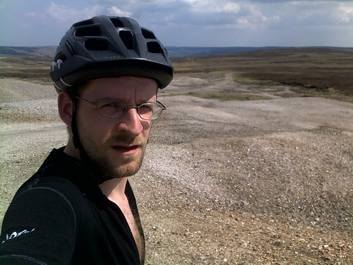 Knackered on Great Pinseat, Swaledale