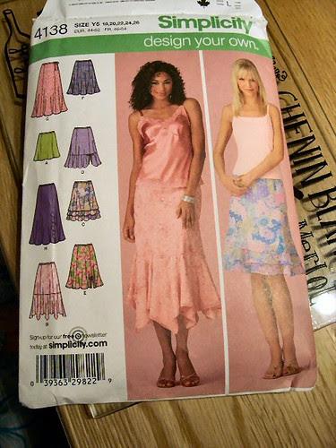 Skirts in progress