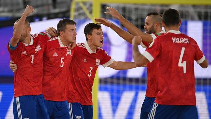 В серии пенальти: как Россия вымучила победу над Парагваем на ЧМ по пляжному футболу