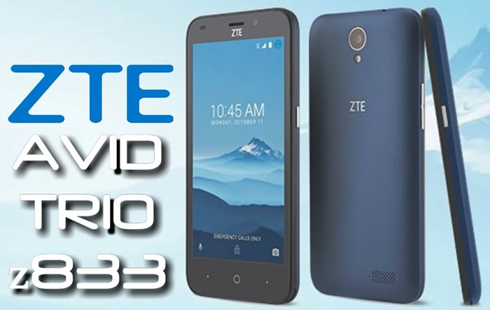 ZTE Avid Trio User Guide Manual Tips Tricks Download