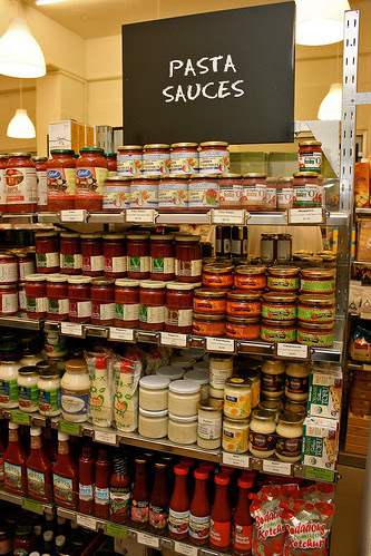 Organic pasta sauces of all kinds