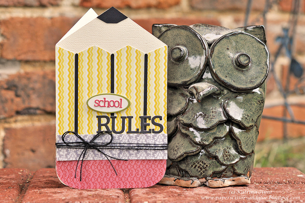 Lily Bee Guest Design-School Rules Card