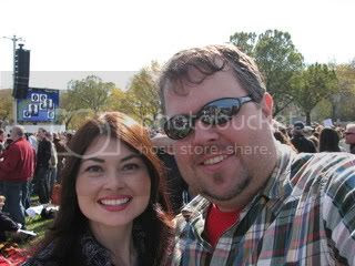 Heidi and Jason at Sanity Rally
