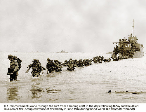 Allied Invasion of Normandy WWII