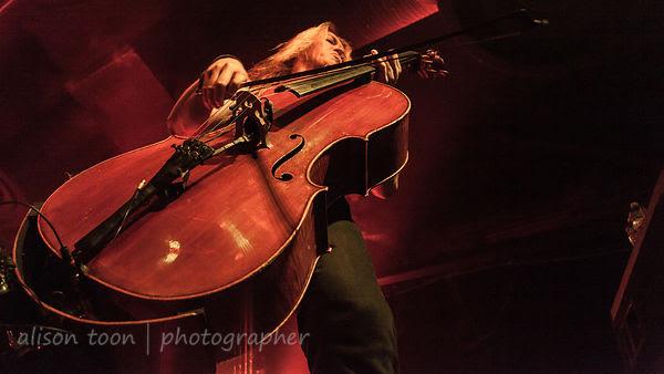 Eicca Toppinen, cello, Apocalyptica