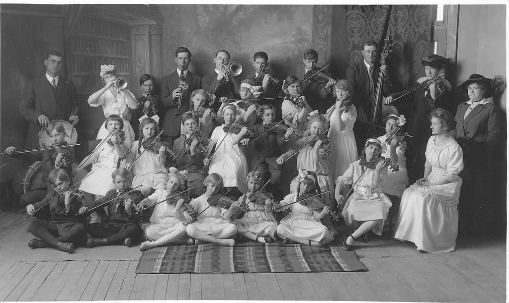 1916 Sagebrush Symphony Orchestra