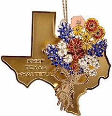 Keep Texas Beautiful - Lady Bird Ornament