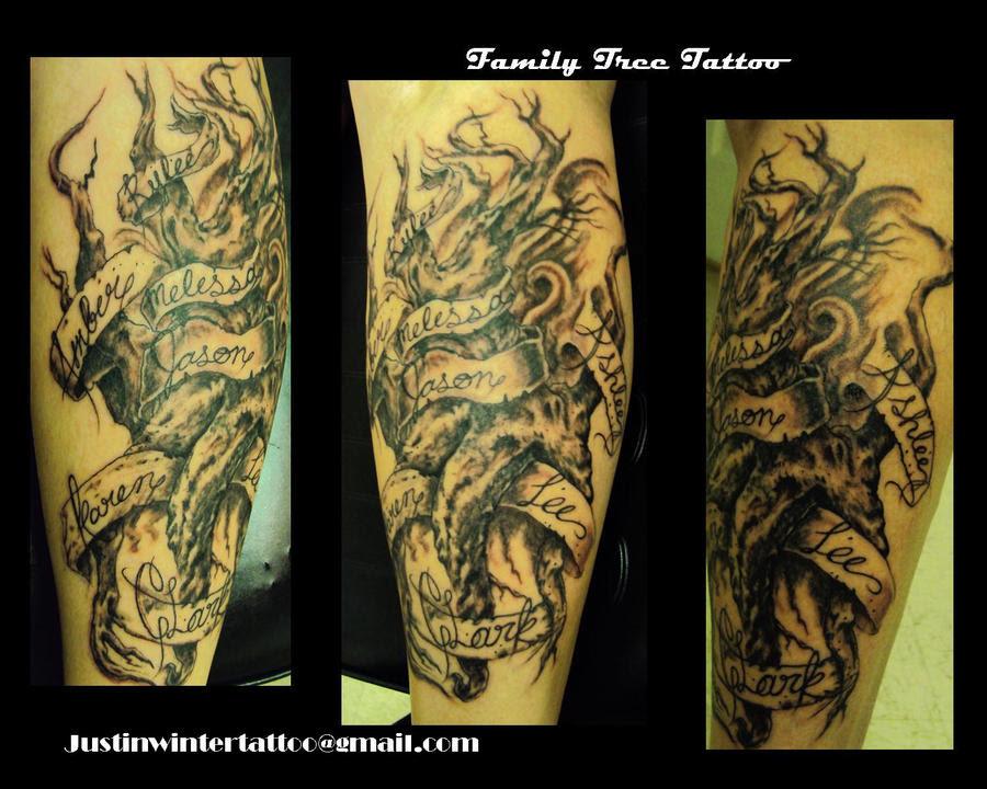 Family Tree Tattoos On Forearm 36894 Loadtve