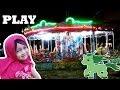 Naik Kuda Mainan di Pasar Malam ❤ Horse Riding Toys ❤ Tempat Mainan Anak