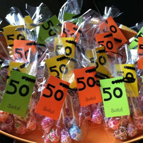 Best 25  50th birthday favors ideas on Pinterest   50th