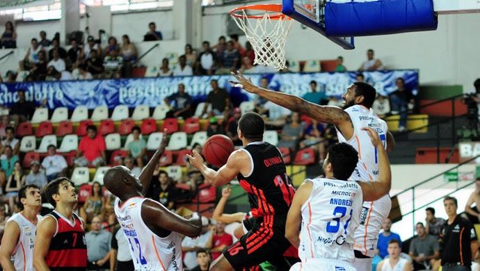 flamengo x bauru basquete (Foto: Sergio Domingues/LNB)