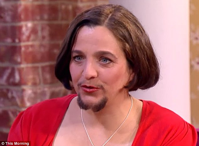 Mariam, 49, gave up tweezing her facial hair in 2008, and has decided instead to let her beard grow and see how it would change her as a person