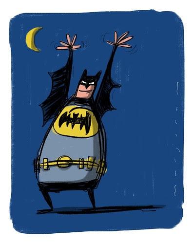 I'm Batman by Stefan Marjoram