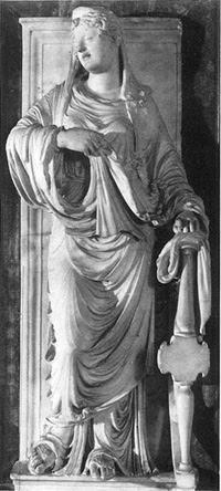 Frammento della tomba di Francesco Orsini (Palazzo Pitti)