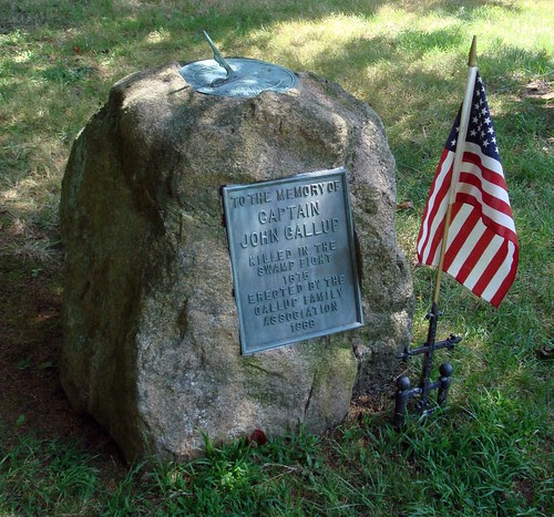 Capt. John GALLUP Memorial by midgefrazel